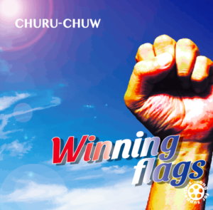 Winning flags